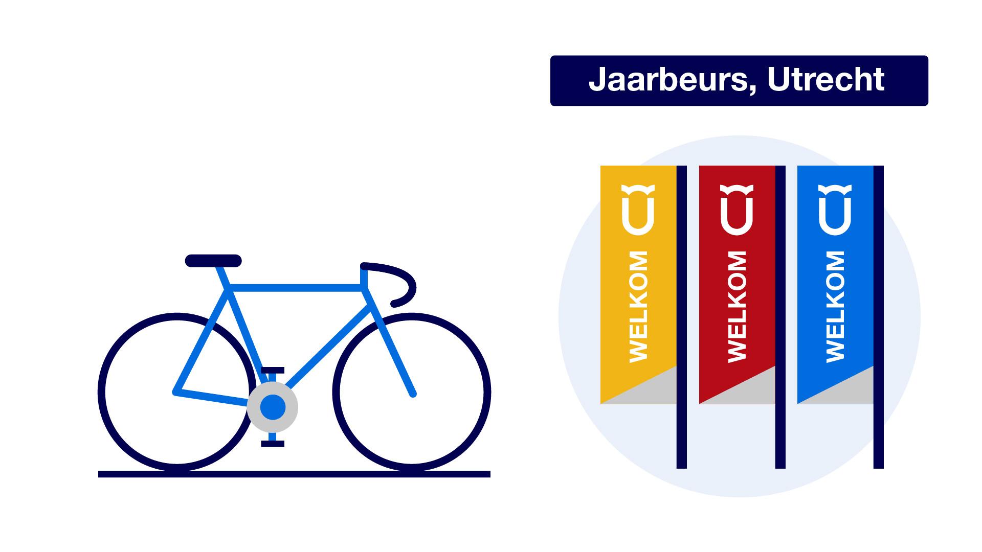 Redactionele animaties Tour de France door Nederland